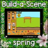 Spring, Easter & Earth Day Build a Scene  |   Boom Cards™