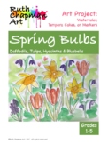 Spring Bulbs: Art Lesson for Grades 1-5
