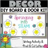 Spring Bulletin Board Door STEAM   Classroom Decor