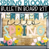 Spring Bulletin Board Kit - Vintage Flowers Theme
