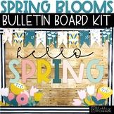 Spring Bulletin Board Kit - Vintage Flowers Theme