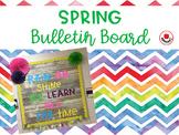 Spring Bulletin Board Set