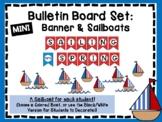 Spring Bulletin Board Set - Sailboat Bulletin Board - Spring - Boat Sailing