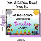 Spring Bulletin Board and Door Decor Kit