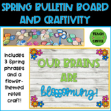 Spring Bulletin Board and Writing Craft