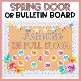 Spring Bulletin Board or Spring Door Decor