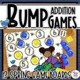 Spring Bump Games for Number Matching and Addition with 1 dice