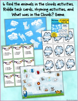 Speech/Language Therapy SPRING Activities & Games Bundle for Mixed Groups