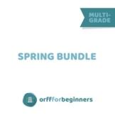 Spring Bundle: 6 Units, preschool through 3rd grade