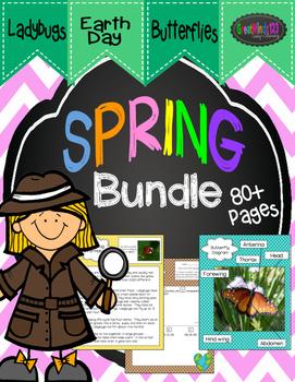 Spring Bundle -  Butterflies, Ladybugs, Earth Day