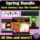 Spring Bundle | Includes Games, Sunday School Lessons, and Devotions