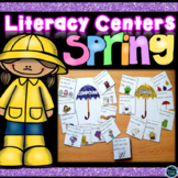 Spring Literacy Centers | Spring Activities Kindergarten and First Grade