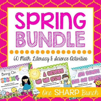 Spring Bundle {Math, Literacy & MORE}