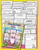 Spring Bundle - NO PREP Math & Literacy (First) - Mar/Apr/May