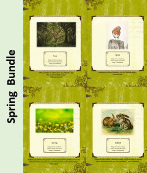 Spring Bundle-Nature Education Unit-Stage 2 (Magic Forest Academy)