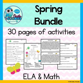Spring Bundle Pack (ELA & Math)