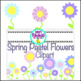 Spring Bundle Package {Borders, Backgrounds, Shape, Flower, Easter Egg Clipart}