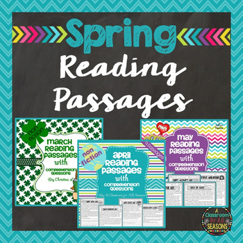 Spring Reading Comprehension