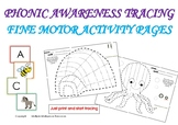 END OF THE YEAR ACTIVITIES - PHONIC AWARENESS TRACING - FI