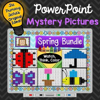 Spring Bundle Watch, Think, Color Games - EXPANDING BUNDLE