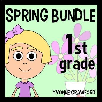 Spring Bundle for First Grade Endless