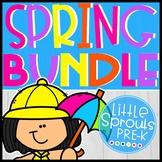 Spring Bundle for Little Learners - PreK, Kindergarten, Preschool