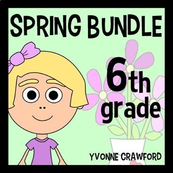 Spring Bundle for Sixth Grade Endless