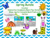 Spring Bundle for Vocabulary, Concepts, Bingo, Cariboo!