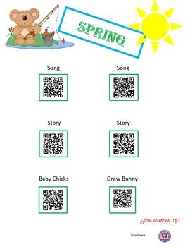 Spring Bundle using QR Codes
