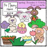 Spring Bunnies & Chicks