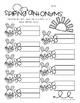 Spring Bunnies and Flowers: Antonyms Match Center (Basic)
