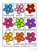 Spring Bunnies and Flowers: Synonyms Match Center (Higher Level)