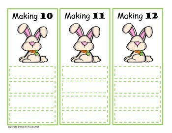 Spring: Bunny Addition & Subtraction Facts