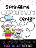 Spring Bunny Bakery: Compound Word Match Center