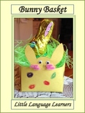 Spring Bunny Basket Art Project