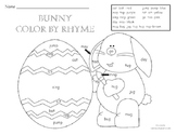 Spring Bunny Color By Rhyming Family
