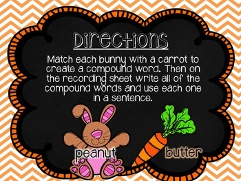 Spring Bunny Compound Words