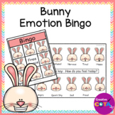 Spring Bunny Emotions and Feelings Bingo