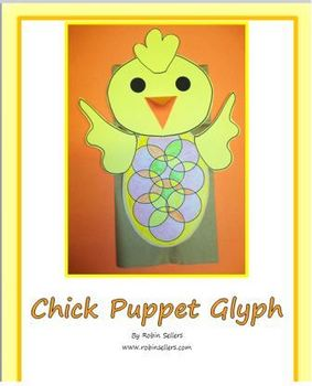 Spring Bunny Glyph and Chick Glyph Bundle