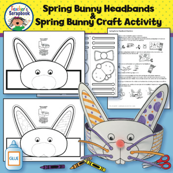 Spring Bunny Headband & Spring Bunny Craft Activity