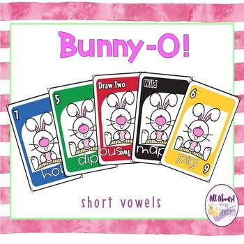 Spring Bunny-O Uno Short Vowels