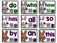 Spring Bunny Sight Word Practice with Audio QR Codes for Self-Correcting