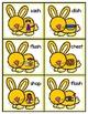Spring Bunny's Short Vowel Write the Rooom Kindergarten Easter File Folder Game