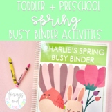 Spring Busy Binder | Toddler and Preschool Learning Activities