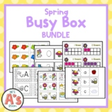 Spring Task Box Activity Bundle