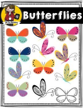 Spring Butterflies   CU