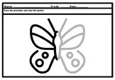 Spring Butterflies, Year Long Symmetry Art Puzzle, Fine Mo