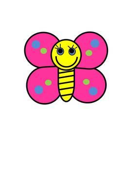 Spring Butterfly Clip Art