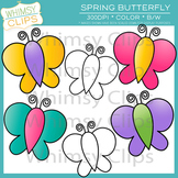 Free Spring Butterfly Clip Art