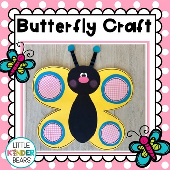 Spring Butterfly Craft and Book